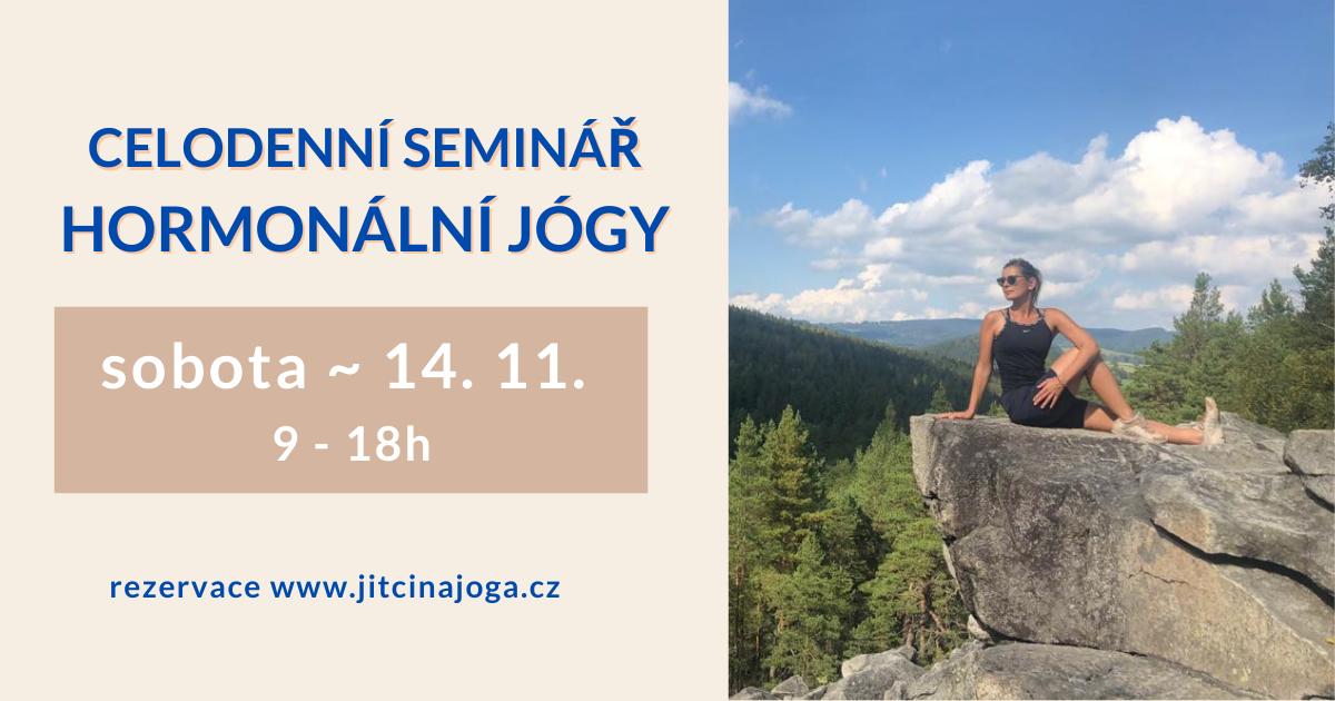 Celodenní seminář hormonální jógy - Praha