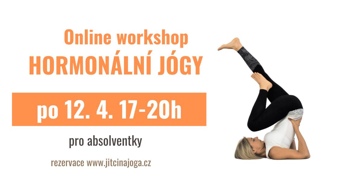 Workshop Hormonální jógy (živě online) - pro absolventky