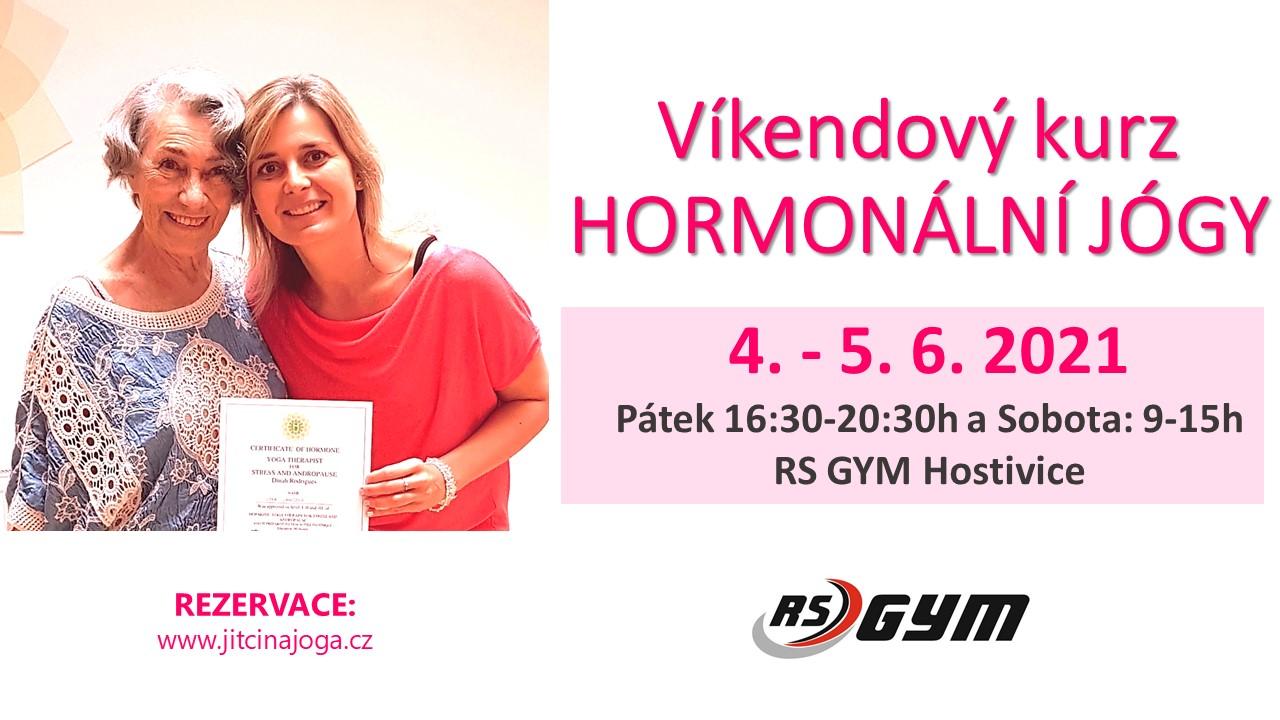 Víkendový kurz Hormonální jógy - Hostivice