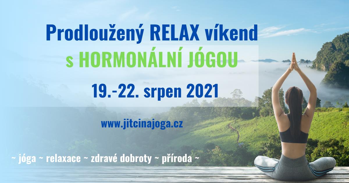 Prodloužený RELAX víkend s Hormonální jógou ~ Dvorec Černiv
