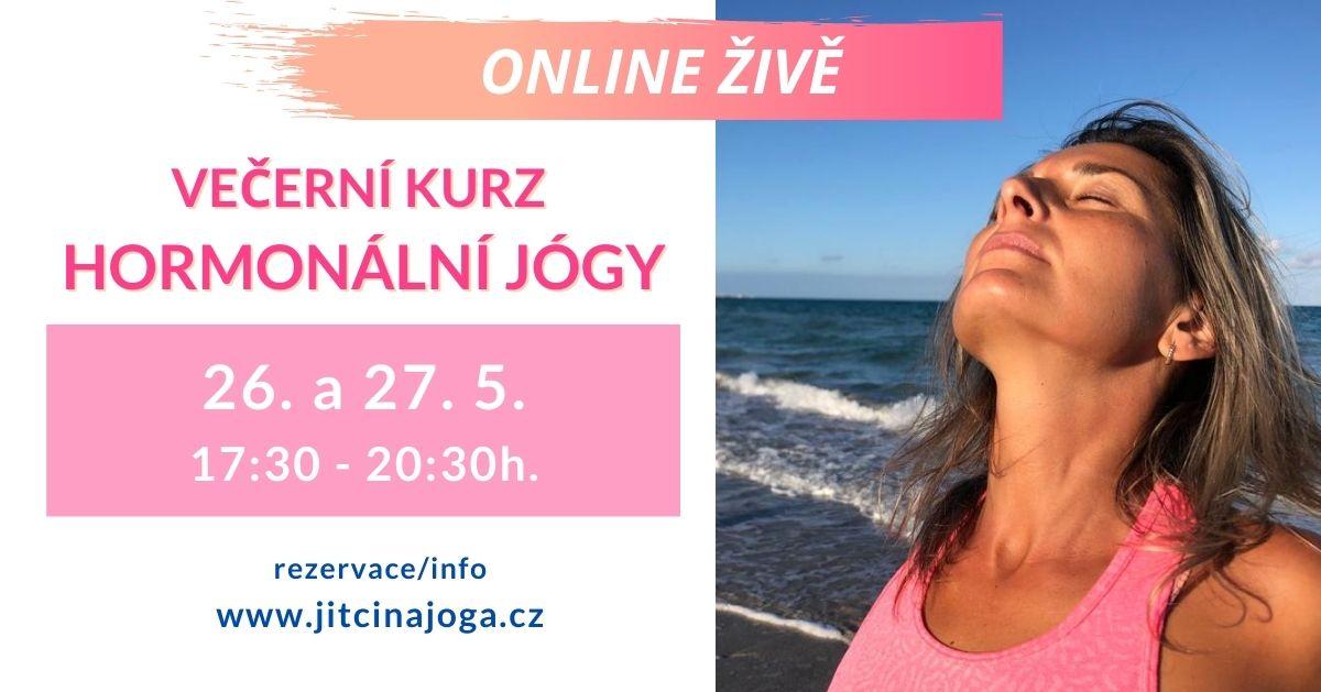 Večerní seminář Hormonální jógy (živě online)