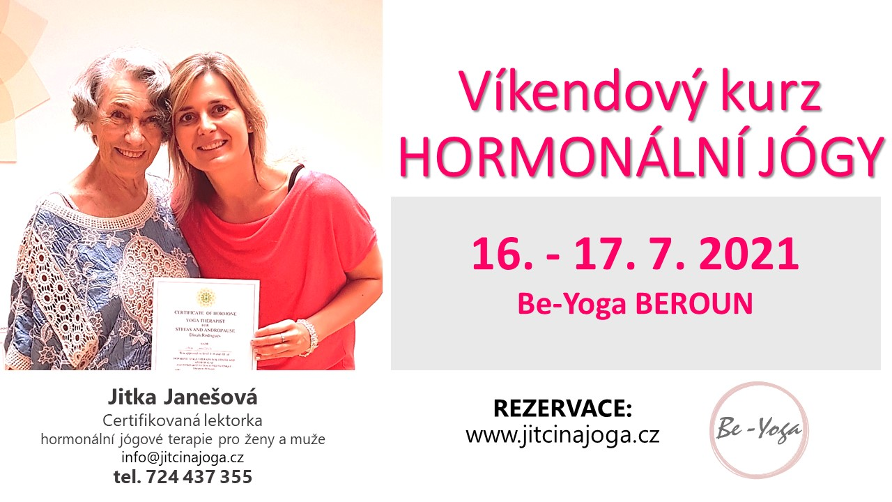Víkendový kurz Hormonální jógy - Beroun