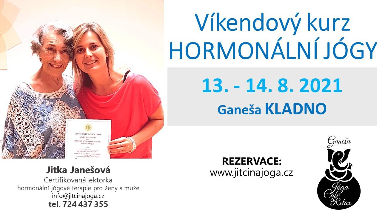Víkendový kurz Hormonální jógy - Kladno